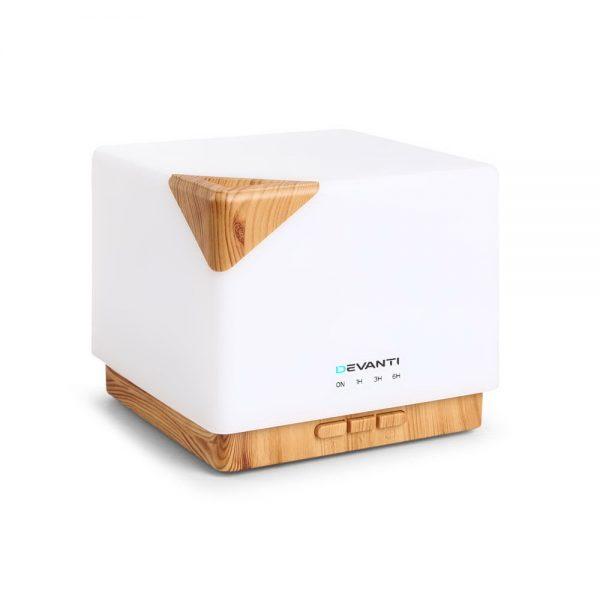DEVANTi Aroma Diffuser Air Humidifier Night Light 600ml