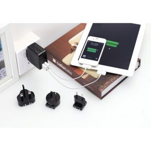 Huntkey TravelMate Multi Plugs USB