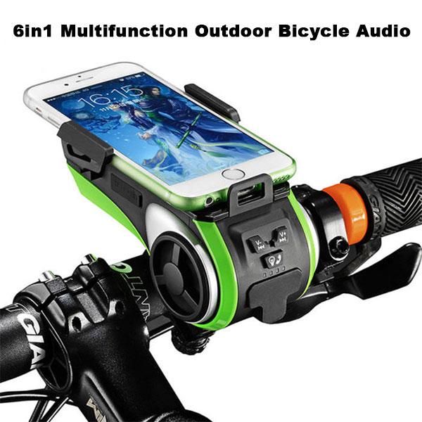 Multifunction Outdoor Bicycle Audio