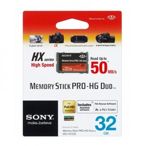 Sony Memory Stick Pro-HG