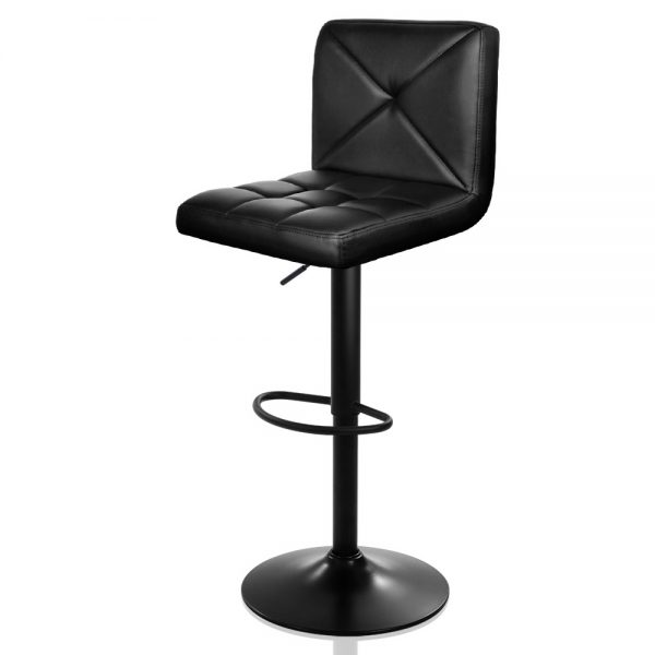 Artiss Leather Gas Lift Bar Stools