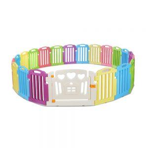 Cuddly Baby 21-Panel Plastic Baby Playpen Interactive Kids Toddler