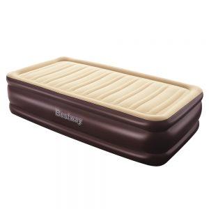 Bestway Single Air Bed Inflatable Mattress Sleeping Mat Battery