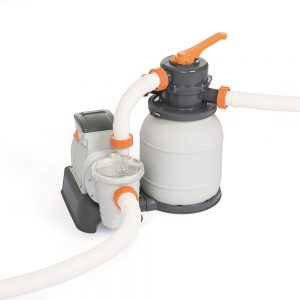Bestway 2000GPH Flowclear™ Sand Filter Swimming Above Ground Pool Cleaning Pump