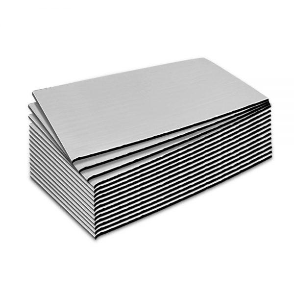 Weisshorn 20sq/ft Car Sound Deadener Butyl Heat Proof Insulation Noise Deadening