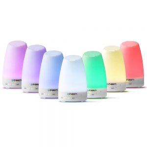 Devanti 120ml 4 in 1 Aroma Diffuser - White