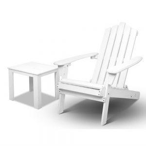Gardeon Beach Chair and Table Set