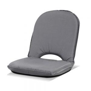 Artiss Floor Lounge Sofa Camping Portable Recliner Beach Chair Folding Outdoor Grey