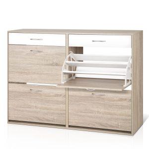 Artiss 2 Tier Shoe Cabinet