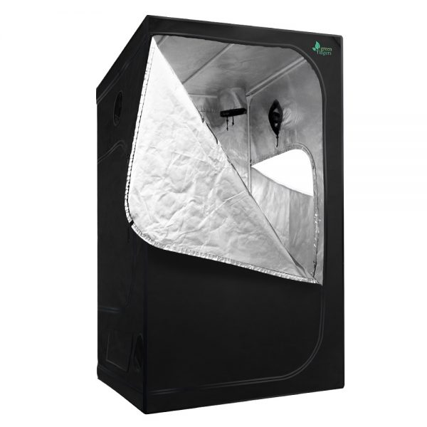 Greenfingers Hydroponics Indor Grow Tent Kits Reflective 1.2X1.2X2M 600D Oxford
