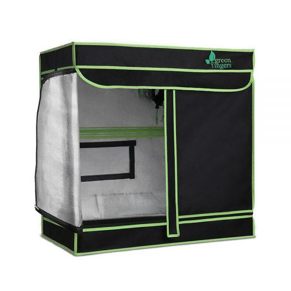 Greenfingers Grow Tents Hydroponics Plant Tarp Shelves Kit 80 x 45 x 80cm