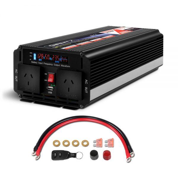 Giantz 12V - 240V Portable Power Inverter