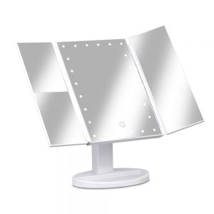 Embellir LED  Tri-Fold Make Up Mirror