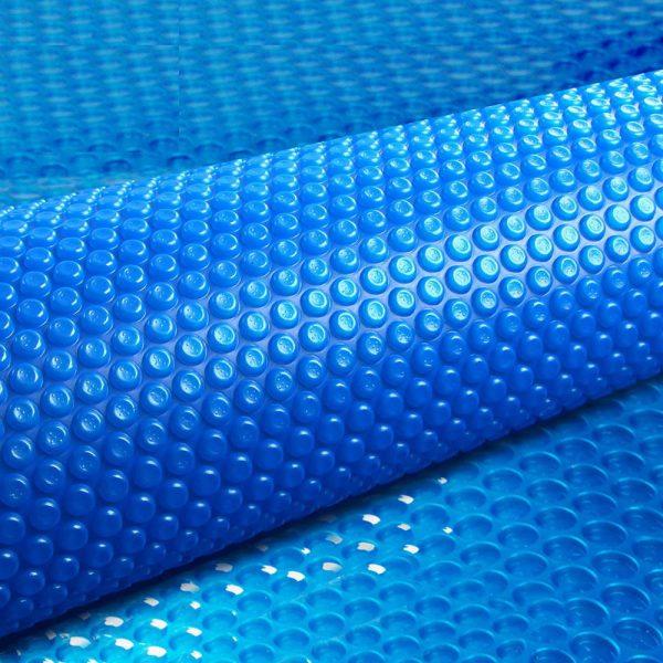 Aquabuddy 10M X 4M Solar Swimming Pool Cover 400 Micron Outdoor Bubble Blanket
