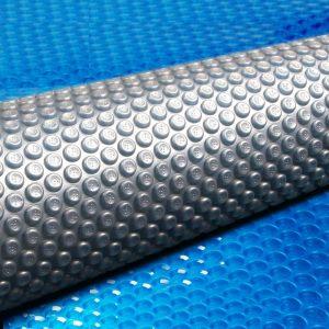 Aquabuddy 8.5M X 4.2M Solar Swimming Pool Cover 500 Micron Outdoor Blanket