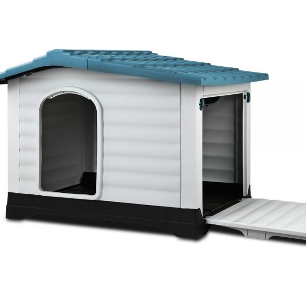 i.Pet Weatherproof Pet Kennel - Blue