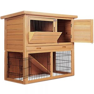 Tall Wooden Pet Coop