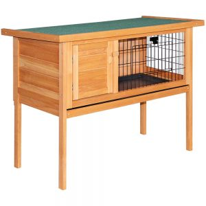 Pet Coop with Slide out Tray