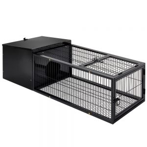 Pet Medium Metal Rabbit Hutch