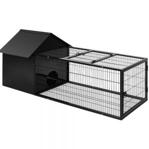 Pet Large Metal Rabbit Hutch