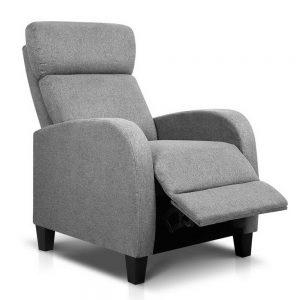 Artiss Fabric Reclining Armchair