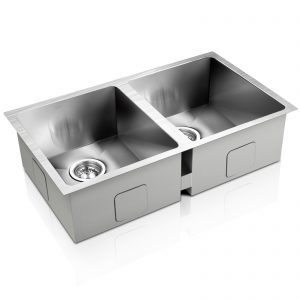 Cefito 770 x 450mm Steel Sink