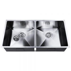 Cefito 865 x 440mm Steel Sink