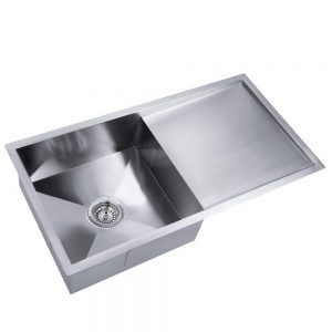 Cefito 870 x 440mm Steel Sink