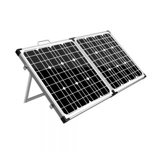 Solraiser 120W Folding Solar Panel Kit Regulator