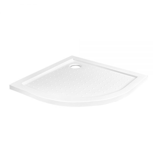 Cefito Shower Base Bathroom Over Tray Acrylic ABS Curved 900x900mm White