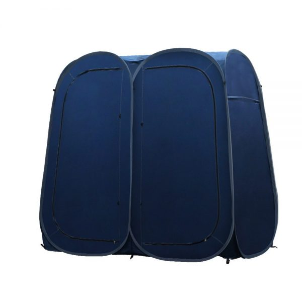 Portable Double Room Shower Tent