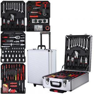 786pcs Tool Kit Trolley Case Mechanics Box Toolbox Portable DIY Set SL