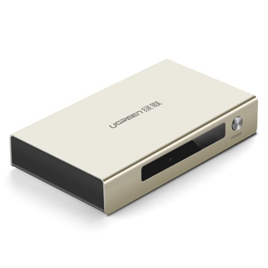 UGREEN HDMI 1 x 2 Amplifier Splitter Zinc Alloy (40276)