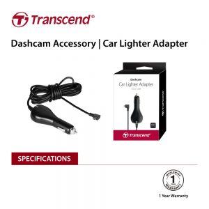 TRANSCEND TS-DPL2  Car Lighter Adapter for DrivePro