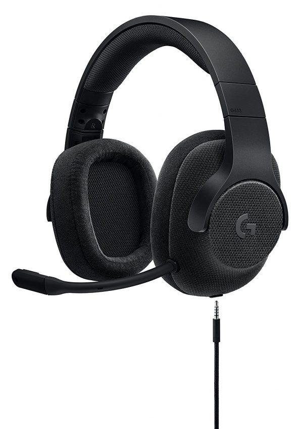 981-000670: Logitech G433 7.1 Surround Sound Wired Gaming Headset