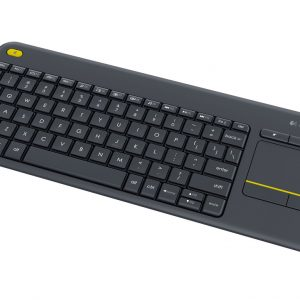Logitech K400 PLUS Touch Wireless keyboard - Black (920-007165)