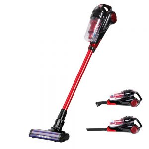 Devanti Cordless Handstick Vacuum Cleaner - Black and Red