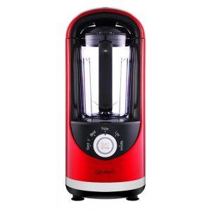Devanti Vacuum Blender Commercial Juicer Mixer Food Processor Ice Crush Red