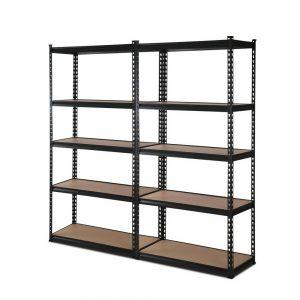 2x0.7M Warehouse Shelving Racking Storage Garage Steel Metal Shelves Rack