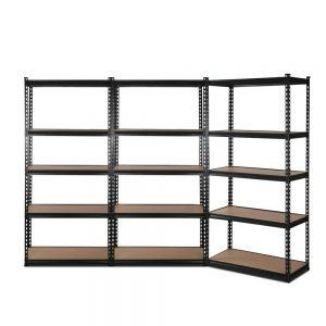 3x0.7M Warehouse Shelving Racking Storage Garage Steel Metal Shelves Rack