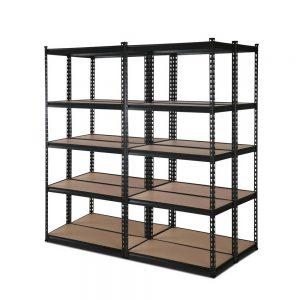 4x0.7M Warehouse Shelving Racking Storage Garage Steel Metal Shelves Rack