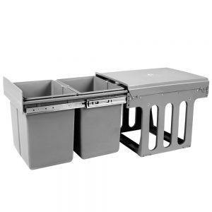 Set 15L Twin Pull Out Bins