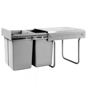 Set 20L Twin Pull Out Bins